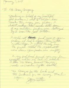 Jeanette Testimonial Letter