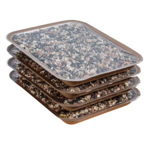 4PK EveryBirdy Loves It En-Trays