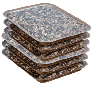 6PK Refill En-Trays for Mr. Canary Bird & Breakfast