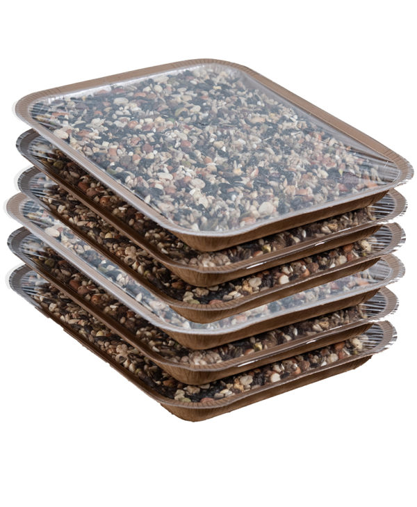 6PK Refill En-Trays for Mr. Canary Bird & Breakfast