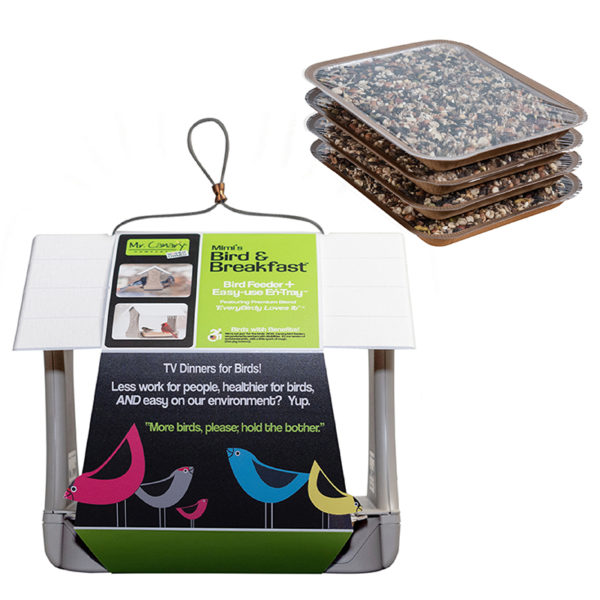 Bird & Breakfast Feeder + 4 En-Trays
