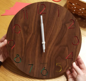Completed Wake Up Clock